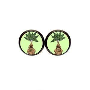 Mandrake Earrings